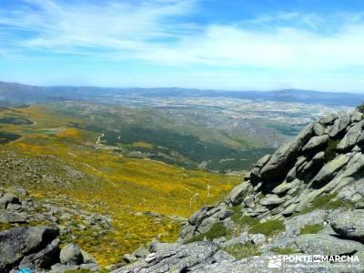 Pico del Zapatero, Sierra de la Paramera; senderismo en la comunidad de madrid; senderismo por la pe